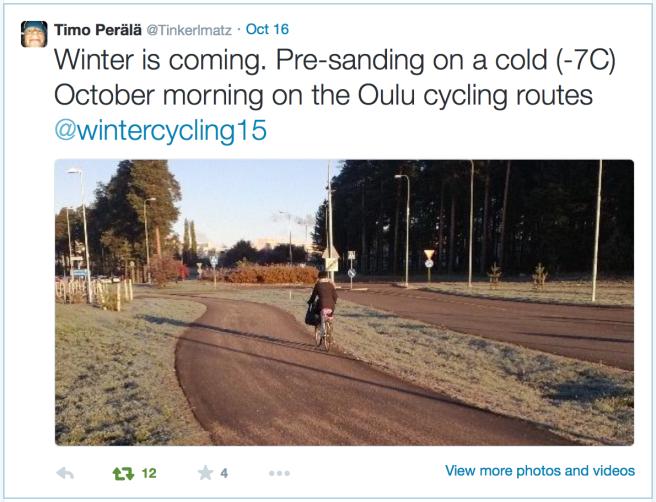 Oulu_sanding_bike_routes
