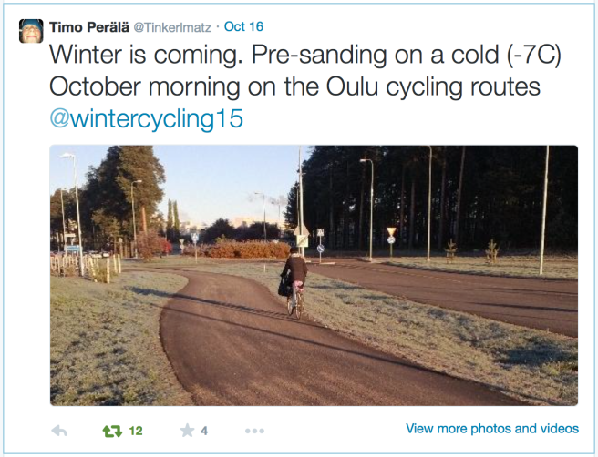 Oulu_sanding_bike_routes
