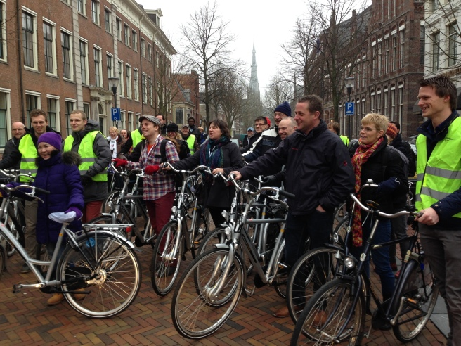Day three included good content both in and outside the congress venue. Bike and bus tours gave participants insight into how and why cycling works in Leeuwarden. Photo by Annie Van Cleve.